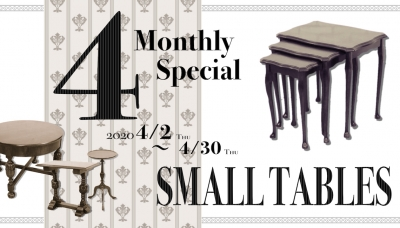 Monthly Special in April - SMALL TABLES-